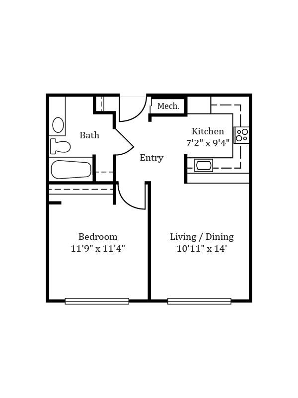 The Devonshire » Floor Plans